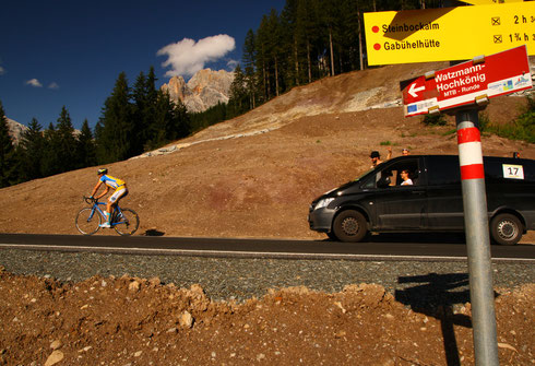 Der Schein trügt: sonst nur extremes Sauwetter beim Race Around Austria 2014