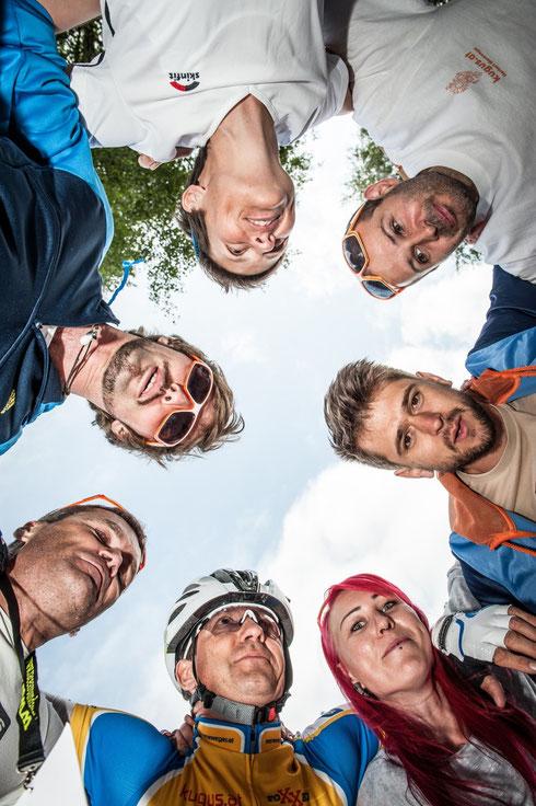Mit so einem Team macht Ultracycling Spaß