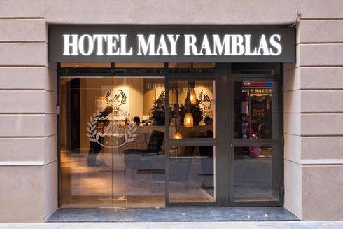 May Ramblas Hotel (3*) - отели в Барселоне на бульваре Рамбла