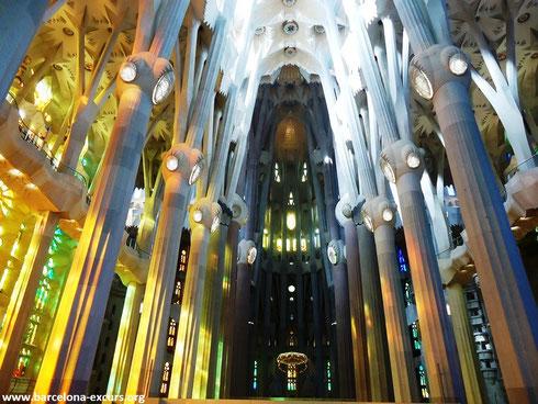 Самые красивые соборы Испании - Саграда Фамилия в Барселоне