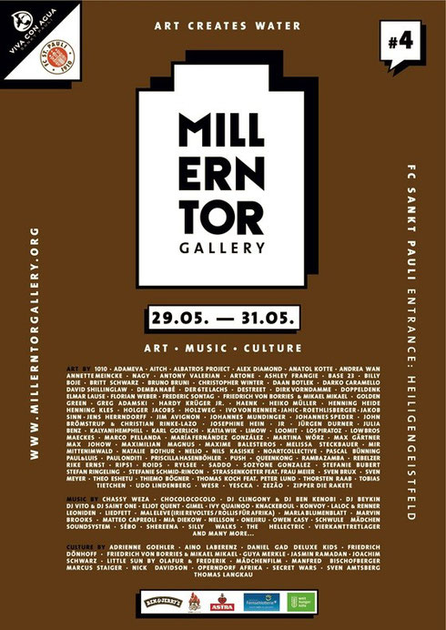 ArtOne at Millerntor Gallery 2014