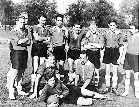 Gründungsmannschaft des SV Unterbalzheim 1949