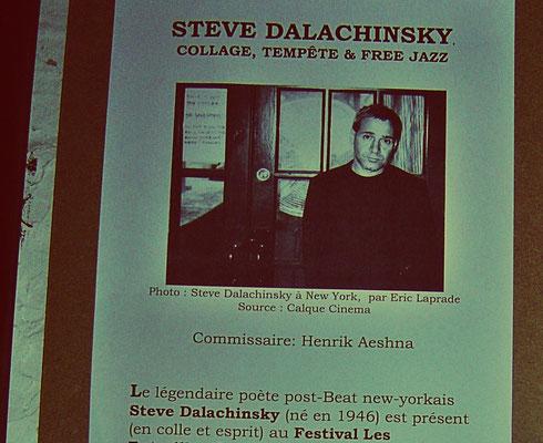 Steve Dalachinsky, Paris artshow