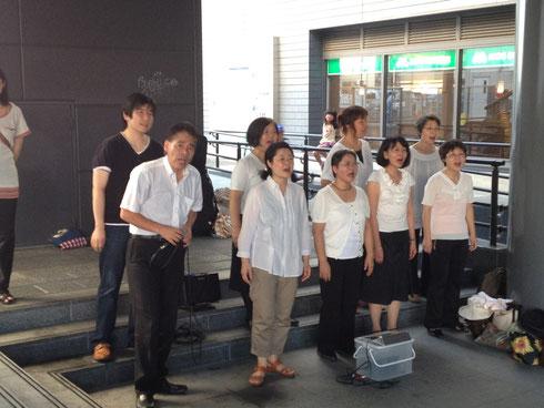 「splendor」奈良で路上ライブ