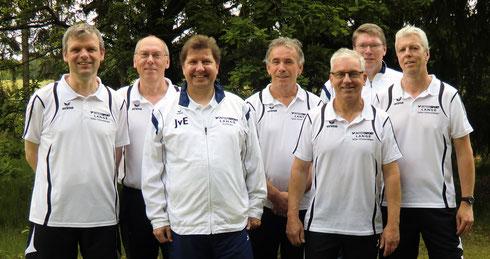 von links: Jörg Meyer, Klaus-Dieter Schenk, Jörg v. Elling, Fako Agovic, Peter Kahnwald, Matthias Schultz, Olaf Stolze