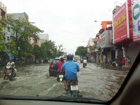 ベトナムの洪水