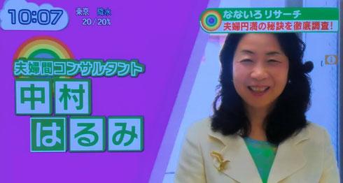 日本交流分析協会会員 1級分析士 夫婦円満コンサルタントR 中村 はるみ
