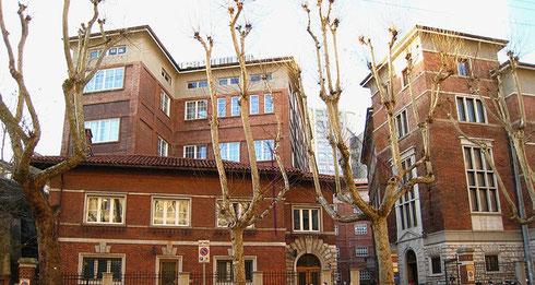 Stock-Gebäude von 1928 in Trieste