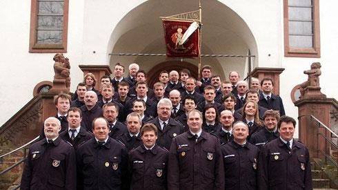 Aktive Feuerwehrkräfte