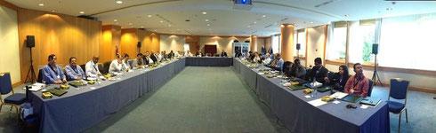 Sesión del Congreso Mundial de Miembros Santa Fe Associates International en Barcelona España Octubre 2013