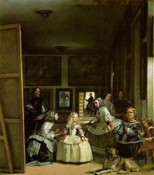 Las meninas de Diego Velázquez (1599-1660)