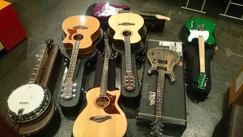 PRS CE24QM YAMAHA AC3M Taylor 414ce NS24 Telecaster Stratocaster Guitars Morris Morissey Banjo