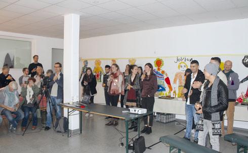 Eröffnung Welcome In Wohnzimmer Fulda