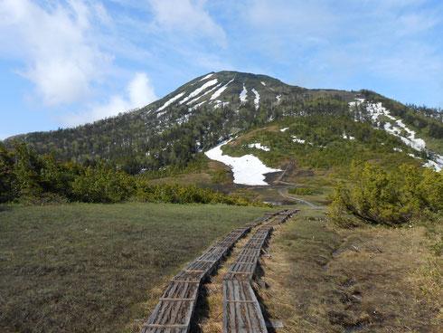 広沢田代から見る燧ヶ岳