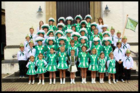 Jugendabteilung in der Jubiläumssession 2014/2015