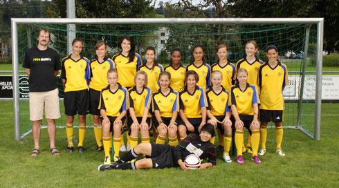 Juniorinennen B, Saison 2011/2012