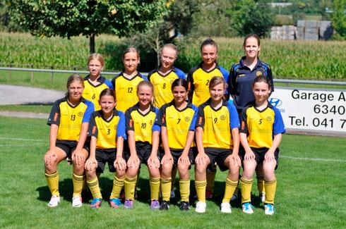 Juniorinnen D, Saison 2012/2013