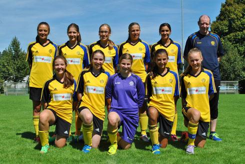 Juniorinnen B, Saison 2014/2015