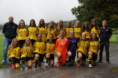 Juniorinnen B, Saison 2015/16