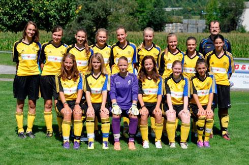 Juniorinnen B, Saison 2012/2013