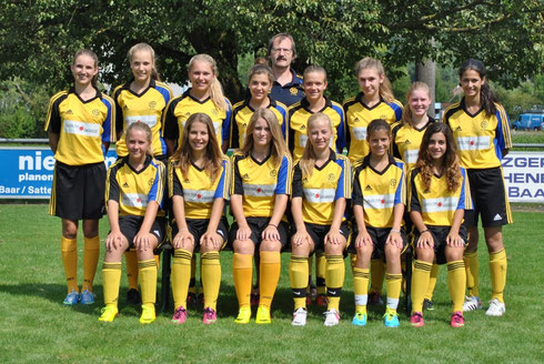 Juniorinnen B, Saison 2013/2014