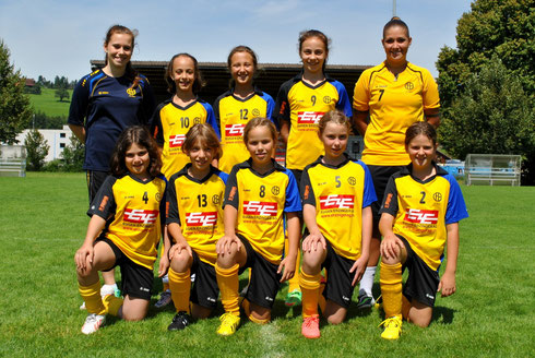 Juniorinnen E, Saison 2014/2015