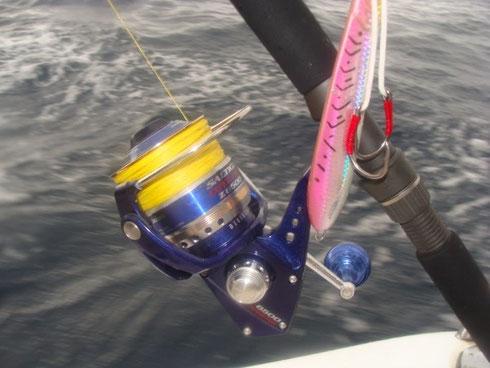 Seychellen angeln jiggen Gerät