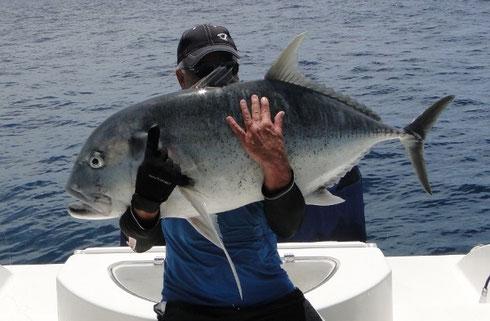 Seychelles fishing GT 2 Dec. 2013