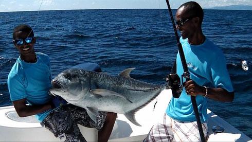 Seychellen angeln poppern GT