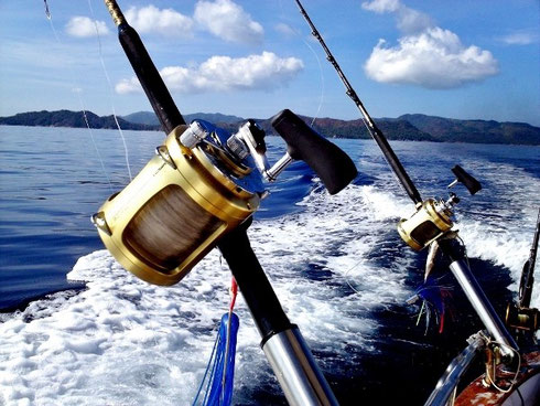 Seychelles fishing trolling tackle