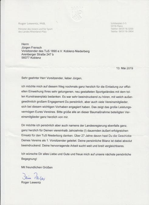 Berichte In Anderen Medien Tus 1890 E V Koblenz Niederberg