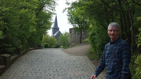 Auf Burg Lichtenberg bei Thallichtenberg/Kusel