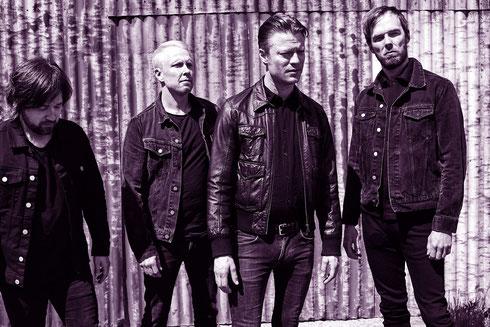 Kick Ass Hardrock from Down Under: The Lazys tragen das musikalische Erbe von AC/DC, Rose Tattoo und Night Angel weiter. Die Band aus Sidney legt Ende Mai in Stuttgart und München einen Tourstopp ein. Foto: Promo