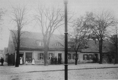 Kolonistenhäuser in der  Reinickendorfer Straße 54, Foto von 1889