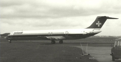 Die MD-81 prägte sehr positiv die visuelle Wahrnehmung der Swissair/Privatsammlung