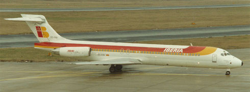 Iberia MD-87/Privatsammlung