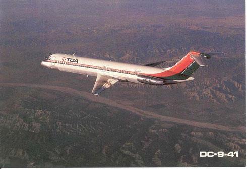 TDA Douglas DC-9-41/Courtesy: TDA