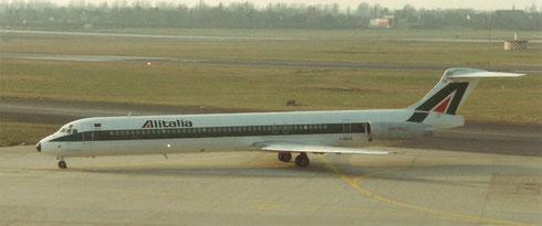 Alitalia MD-82/Privatsammlung