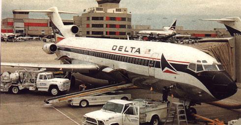 Boeing 727-200Adv. von Delta/Courtesy: Delta Air Lines