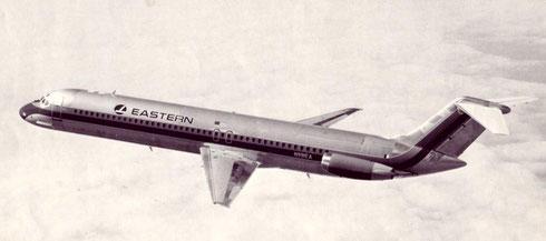 Die DC-9-50 ergänzte bei Eastern Air Lines eine sehr große DC-9-30-Flotte/Courtesy: McDonnell Douglas