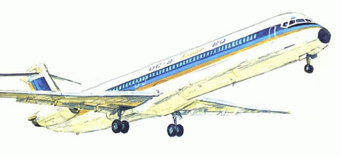 DC-9 Super 80/Courtesy: McDonnell Douglas