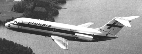 Finnair Douglas DC-9-14/Courtesy: Finnair