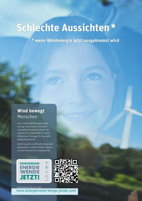 Plakat A2 Bürgerwind