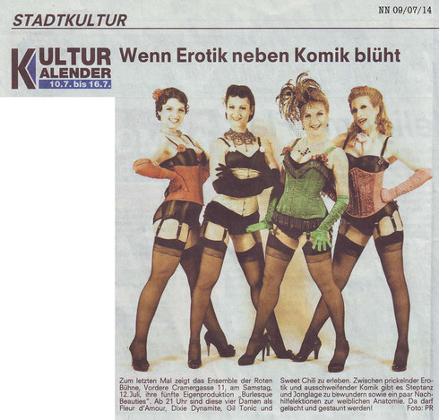 Nürnberger Nachrichten, 09.07.2014
