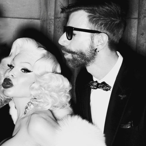 Martin Meister and Amanda Lepore by Michael Duerr 2015 #martinmeister #amandalepore