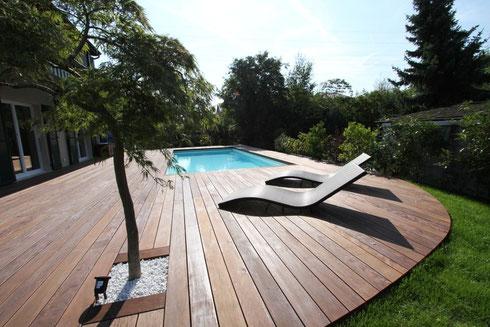 Aussen Pool Bau