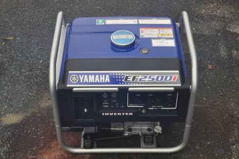 ヤマハ インバータ発電機 EF2500i買取致しました。