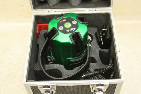 テクノ販売 プラチナグリーンライン レーザー墨出し器 LTC-G510PD買取詳細