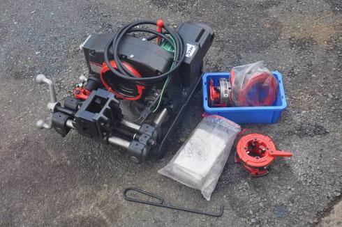MCC 電線管用パイプマシン コンジット82