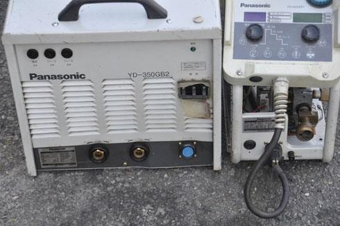 パナソニック フルデジタル半自動溶接機 YD-350GB2